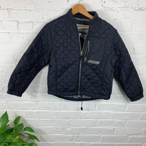 Spyder Quilted Jacket Full Zip Long Sleeve Size S